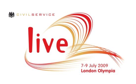 Civil Service Live 2009 logo