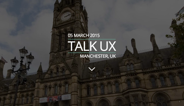 Talk UX